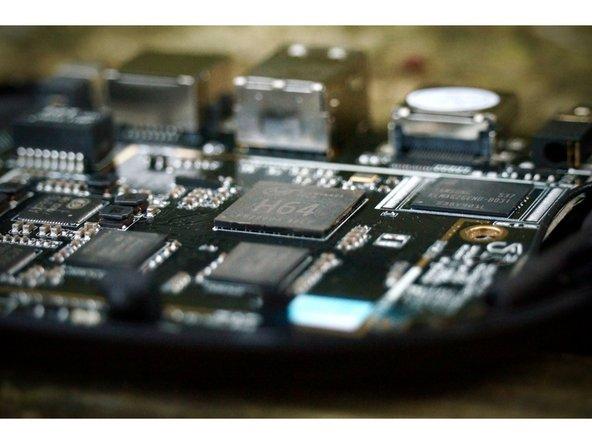 Processeur Allwinner H64 basé sur l'architecture cortex A53 quad-core 1,2 GHz