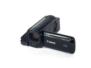 Canon Vixia HF R600 Troubleshooting