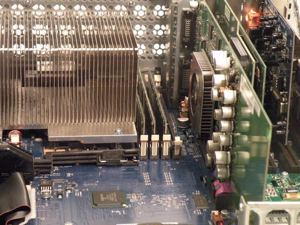 Power Mac G4 MDD RAM Replacement