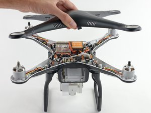 Removing DJI Phantom 2 Vision+ Case Top Shell