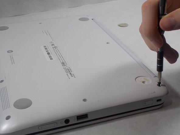 Use JIS J1 screwdriver to remove exposed screws.