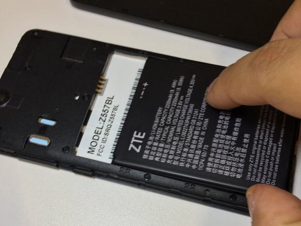 ZTE ZFive G LTE Battery Replacement