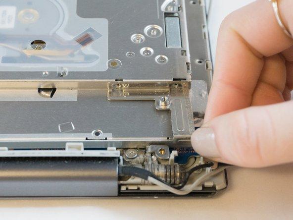 One 3.4mm screw