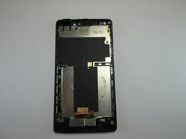 Once every single piece is removed from the main screen/digitizer this will be the only remaining piece. Nothing else can be removed. If you need to replace your screen this entire piece must be replaced.