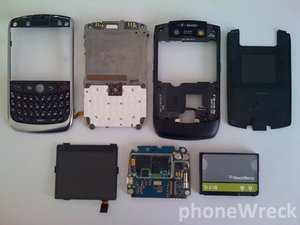 BlackBerry Curve 8900 Teardown