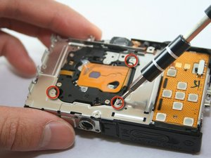 Disassembling Canon PowerShot SD1100 IS Camera Lens