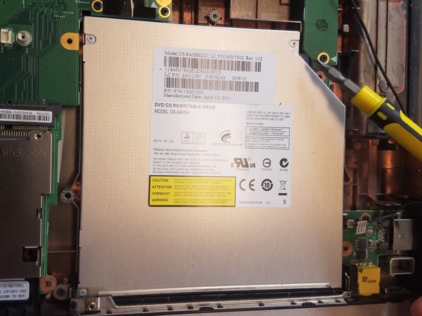 Lenovo ThinkPad Edge E520 CD Disk Drive Replacement