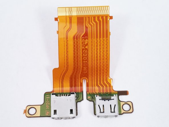 Once the HDMI/USB Port is removed the replacement can be installed.