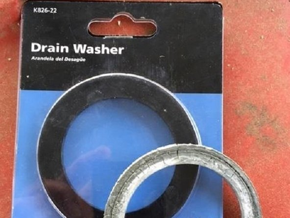 Go to the plumbing section and locate the washers. I found this particular washer in the toilet and bath tub section. The inner diameter can be a little smaller but it should have a similar width.