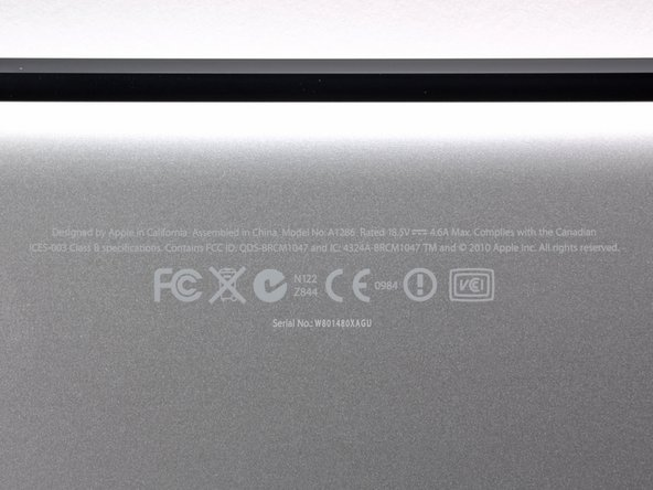 Image 1/1: Apple is still using the model number A1286 for the new MacBook Pro. We'll have to find a new way to differentiate this laptop from previous models.