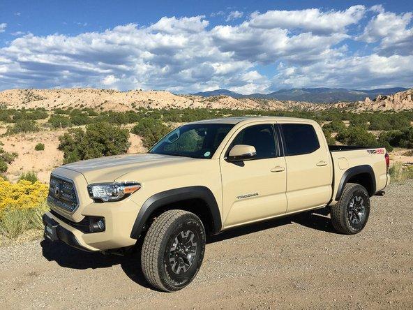 2016-2017 Toyota Tacoma Repair (2016, 2017) - iFixit