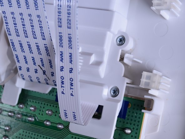 Use the PH0 screw bit to remove the  five [10mm] screws located above the circuit board.