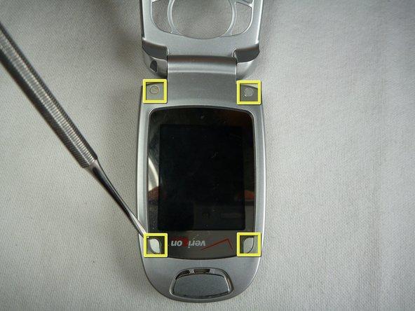 Remplacement de l'écran du LG VX5200