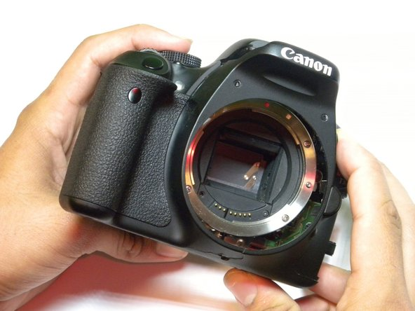 Canon EOS Rebel T3i Front Casing Replacement - iFixit Repair