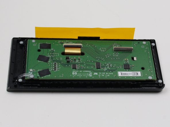 HP Officejet Pro 8625 Display Motherboard Replacement