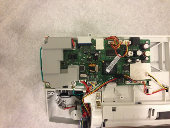 HP Officejet J3680 Motherboard Replacement