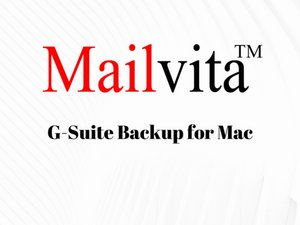 Esporta Mac G Suite Email in più formati di file - Gsuite Backup per Mac
