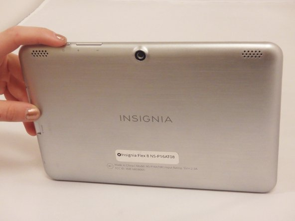 Insignia Flex 8 NS-P16AT08 Back Casing Replacement