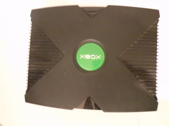 The Xbox, Not as Pretty as it was when I bought it 7 years ago.
