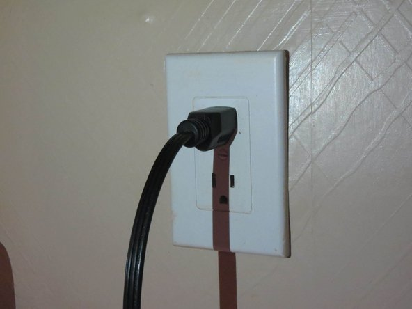 Plug the oven power cord back into power source.