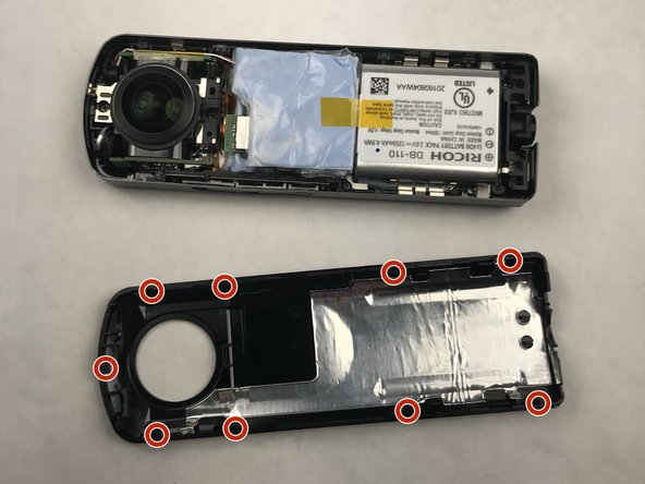 Lift the panel from the device.