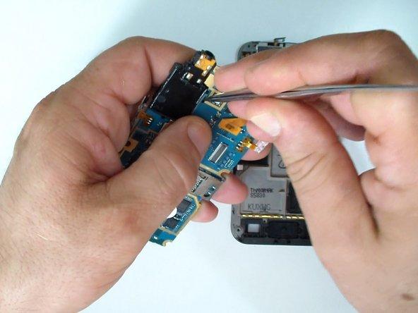 This is the loudspeaker & audio jack connector module.