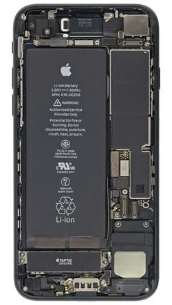 iPhone 7 internals wallpaper