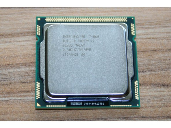 The CPU is the one that's mounted at the funky 45° angle. Bottom left on the overall photo.