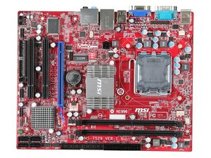 Motherboard MSI g31tm-p21