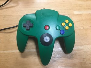 Nintendo 64 Controller Teardown