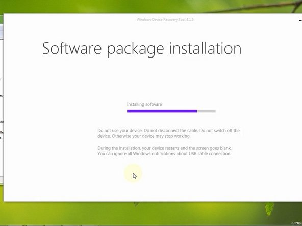 The software package installation can take more time.