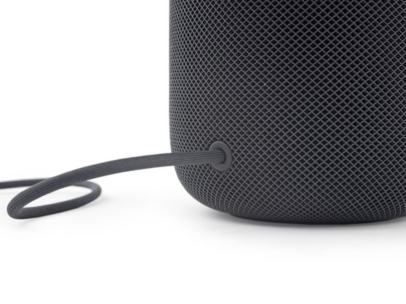 Aside from aspect ratio, the most apparent difference is that, unlike the Amazon Echo and Google Home, the HomePod features an integrated power supply and a non removable power cable. (if you pull hard enough)