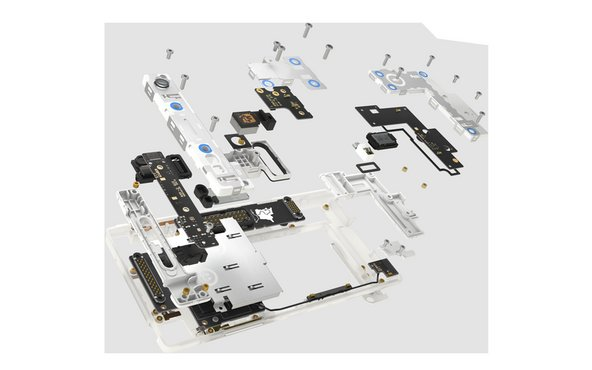 Modular design of the Fairphone 2