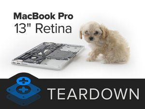 "Demontage van de MacBook Pro 13"" met Retina-scherm begin 2015"