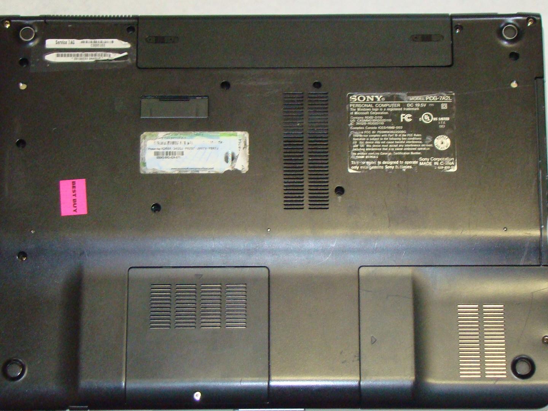 sony vaio pcg 7a2l repair ifixit rh ifixit com Sony Vaio Laptop Manual Guide Sony Vaio PCG- 272L AIO