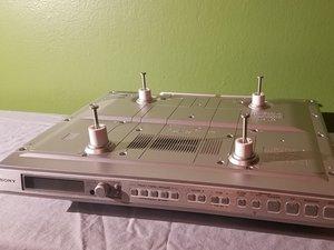 Sony ICF-CD553RM Under Cabinet Kitchen CD Clock Radio  Teardown