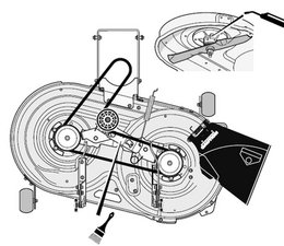 SOLVED: How to replace drive belt on Craftsman riding mower