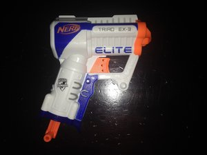 Nerf Elite Triad EX-3 Disassembly