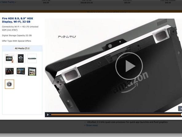 kindle tablet hdx 8 9 third generation internal battery