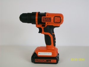 Black And Decker LDX 120C Repair