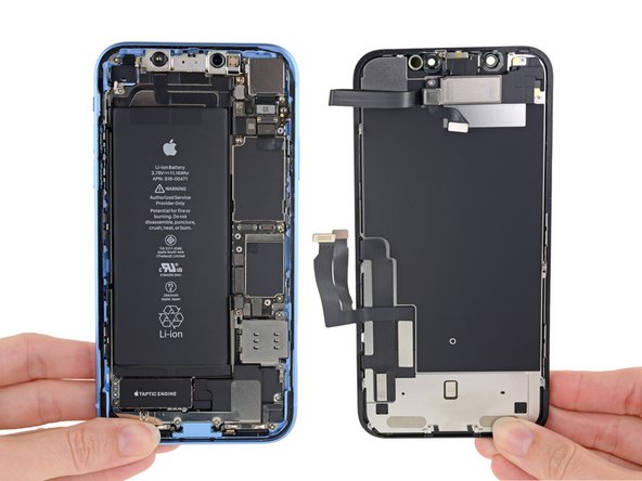 iPhone XR opened up for the teardown