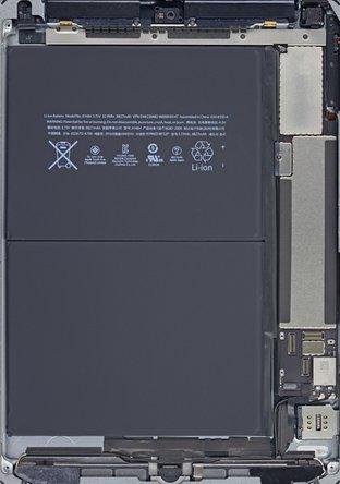 iPad Air LTE internals wallpaper