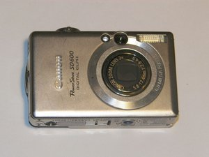 Canon PowerShot SD600 Troubleshooting