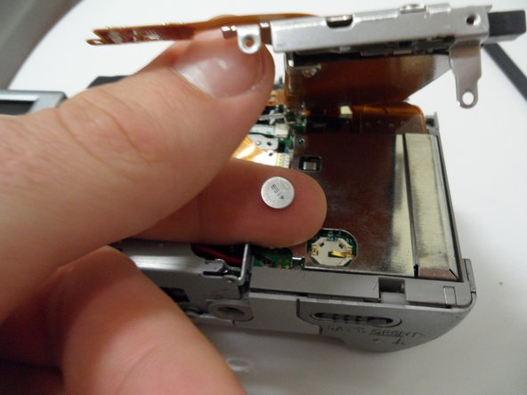 Canon PowerShot A80 Internal Battery Replacement