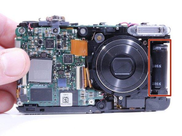 Samsung SCV-VLUUST50 Flash Capacitor Replacement