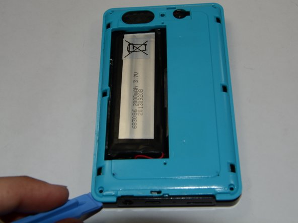 After you remove your four screws use your plastic opening tool to help you open the plastic cover of your device.