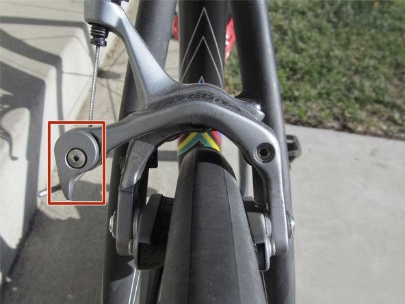 Image 1/2: This will allow the wheel to slide out smoother.