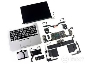 "MacBook Pro 13"" Retina Display Late 2012 Teardown"