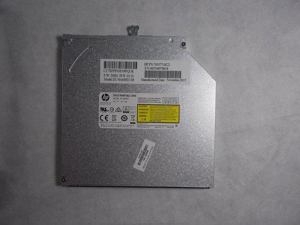 HP ProBook 450 G3 Optical Drive Replacement
