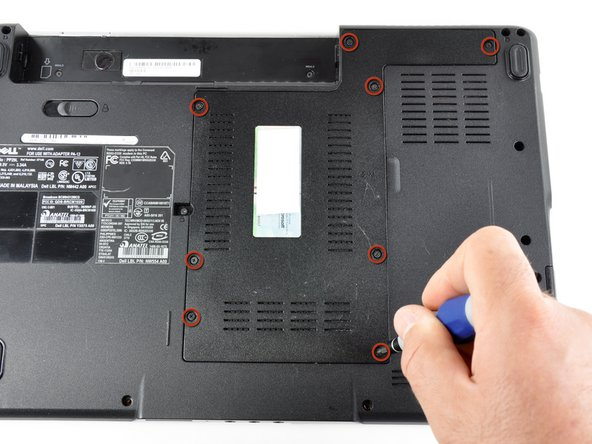 Dell Inspiron 1525 Bottom Cover Replacement